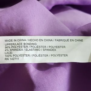 Eloquii Dresses - Eloquii Purple Lace Off Shoulder Dress (24)